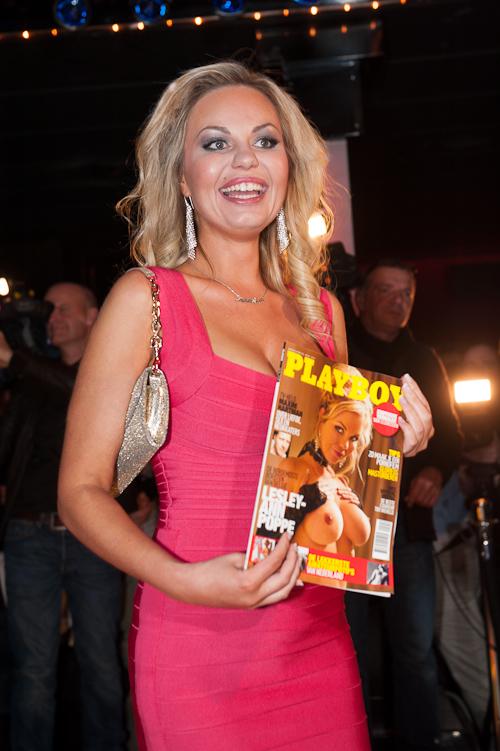 Lesley-Ann in Playboy